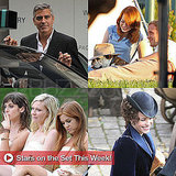 George Clooney, Kirsten Dunst, Ryan Gosling, and More Stars on Set This Week!