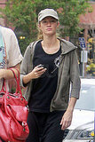 Gisele Bundchen leaves her gym.