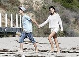 Justin and Selena Spend a Romantic Day Making Out on the Beach