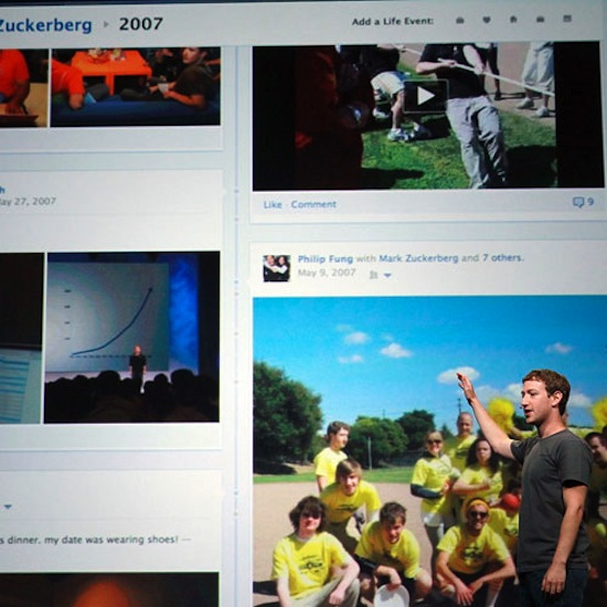 Facebook Introduces Timeline
