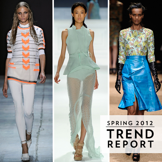 The Top Spring 2012 Trends From New York Fashion Week
