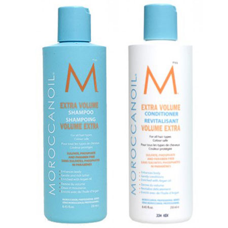 Moroccanoil Extra Volume Shampoo and Conditioner, $35 each