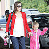 Jennifer Garner Takes Violet Affleck to Ballet Class Pictures
