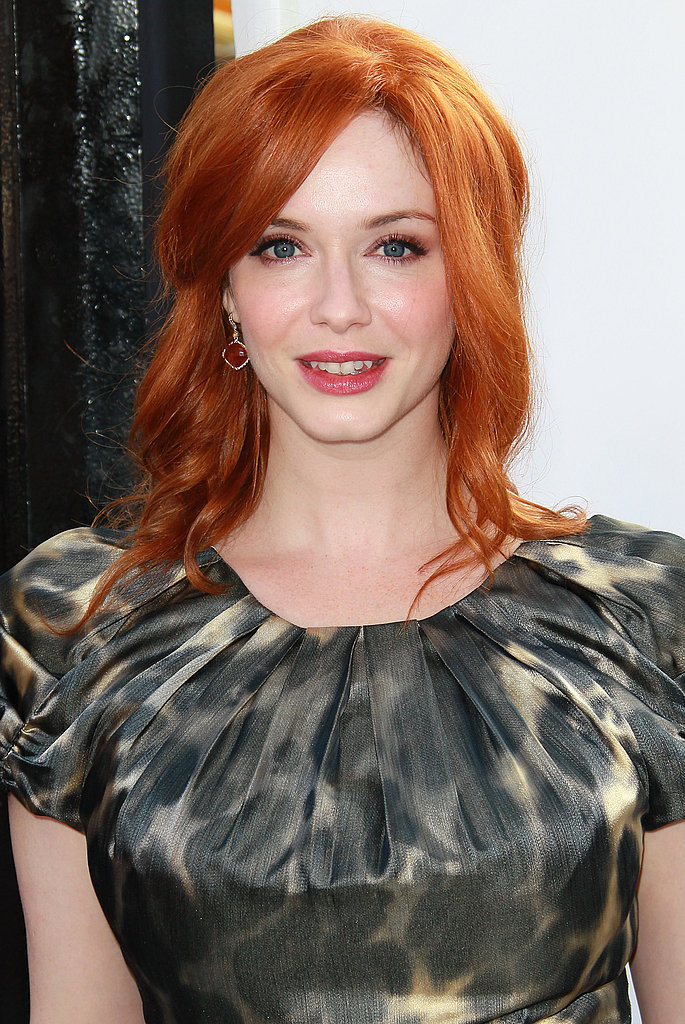 Christina Hendricks at the Iris premiere.