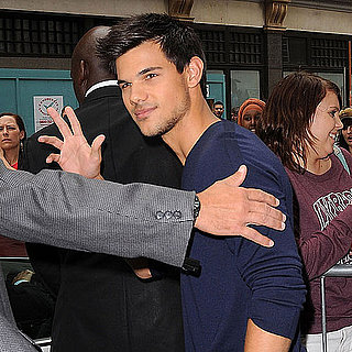 Taylor Lautner Pictures Leaving BCC Radio in London