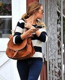 Lauren Conrad with a Chloé bag in LA.