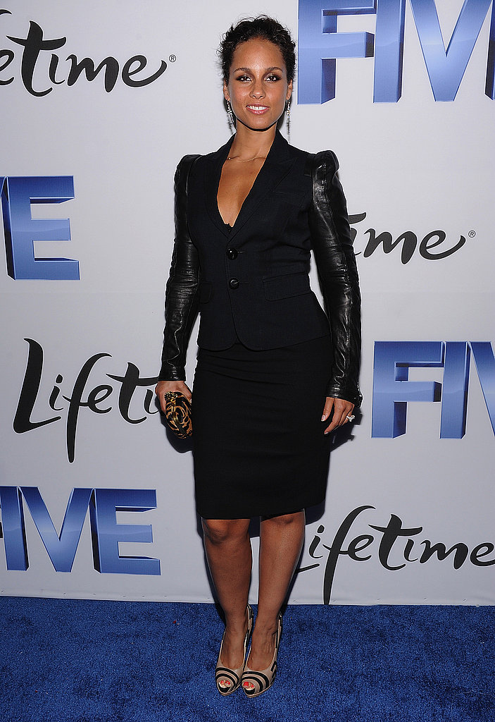 Alicia Keys at the NYC Five premiere.