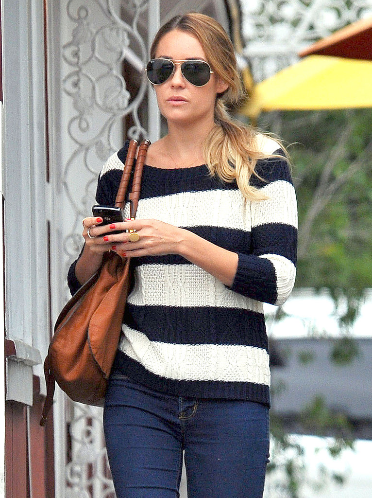 Lauren Conrad at Brentwood Country Mart.