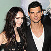 Taylor Lautner & Lily Collins London Abduction Premiere Pictures