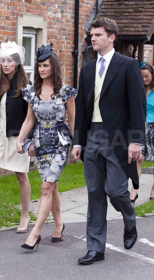 Pippa Middleton and Alex Loudon attend a wedding together.
