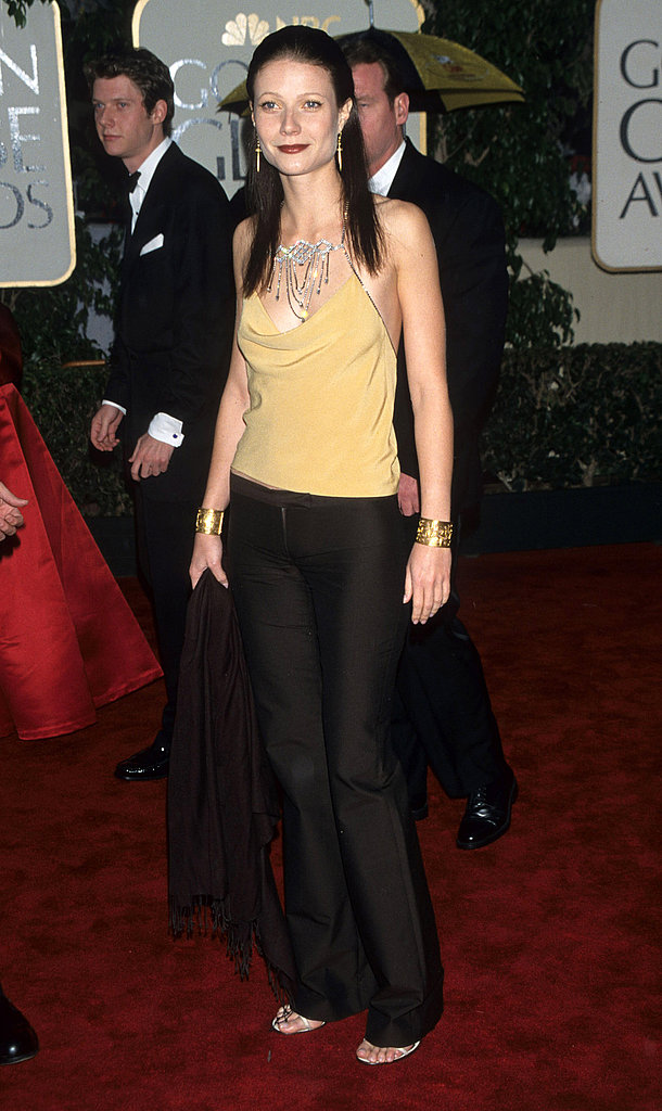 Taking a more relaxed approach to Golden Globes dressing in 2000.