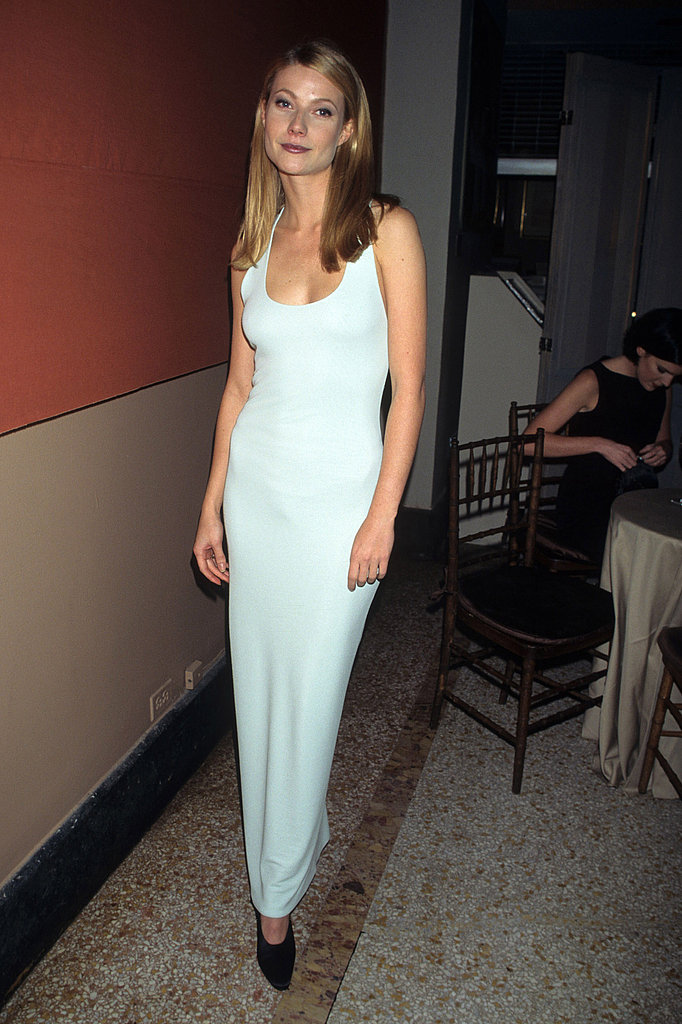 A sleek, sexy look for the Costume Institute Gala in 1995.