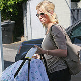 First Pictures of January Jones With Baby Xander