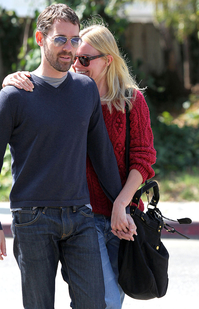 Kate Bosworth went to lunch with Michael Polish at Lemonade in LA.