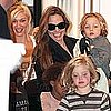 Angelina Jolie With Kids at Gwen Stefani&#039;s House in London (Video)
