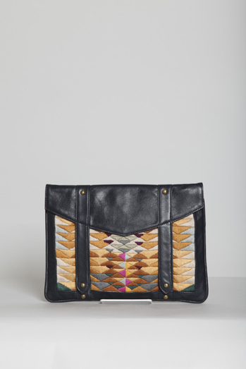 Lizzie Fortunato Indian Paintbrush iPad Clutch ($360)