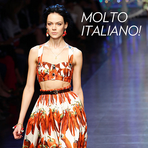 Runway Round Up of the Sexiest Catwalk Looks from 2012 Spring Summer Milan Fashion Week, Including Prada, Gucci and Pucci!