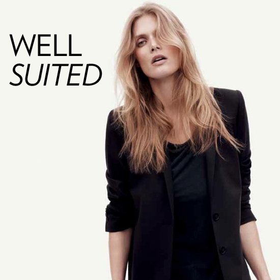 5 Unexpected and Chic Ways to Style a Basic Black Suit