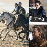 See Kristen Stewart Suited Up With Chris Hemsworth on the Set of Snow White and the Huntsman