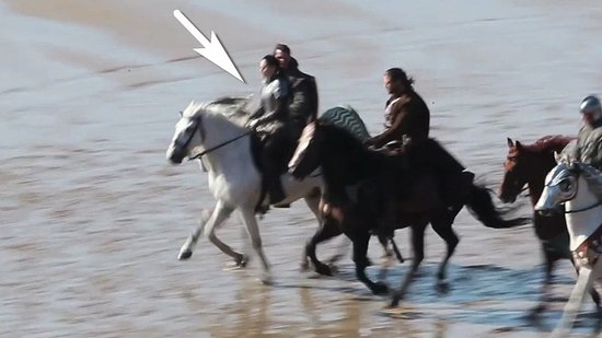 Video: An Armor-Clad Kristen Stewart Rides a Horse For Snow White!