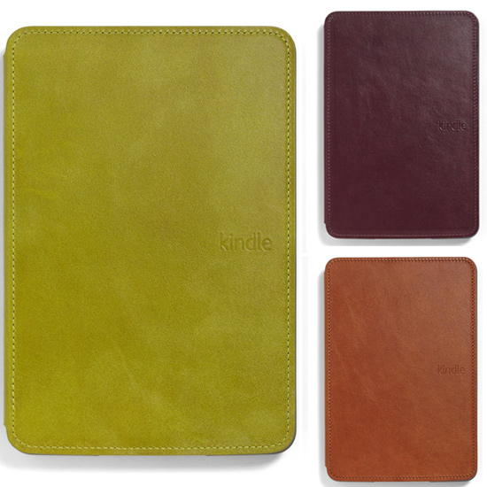 Amazon Stocks Leather Lighted Cases For Kindle Touch