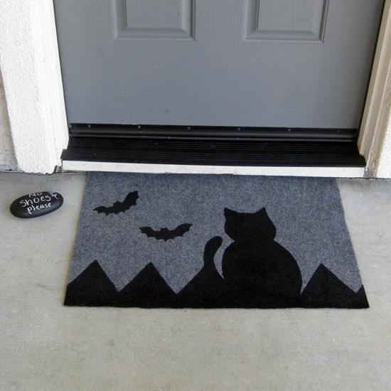 Painted Halloween Doormat