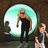 Gwen Stefani, Kingston Rossdale, and Zuma Rossdale at Zoo