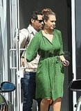 Jessica Alba and Cash Warren in LA.