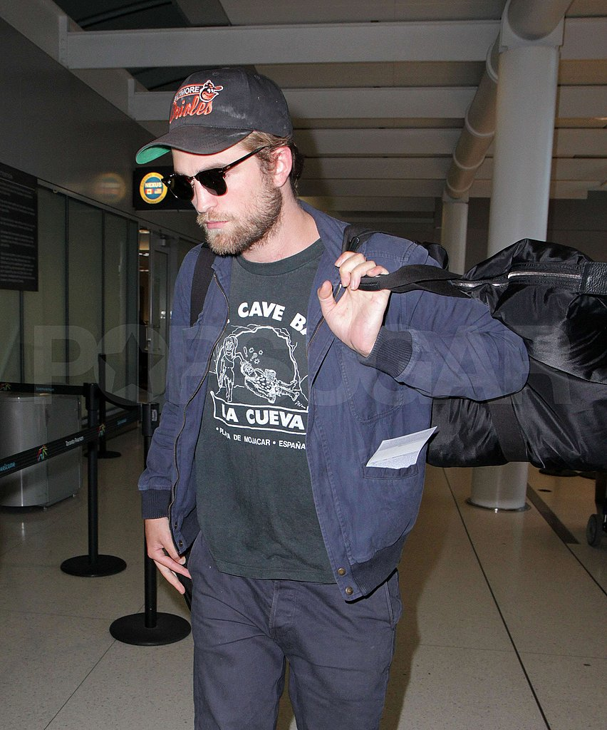 Robert Pattinson Is Off Again Following His Quick Canadian Jaunt