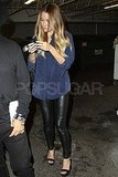 Lauren Conrad leaving Beacher's Madhouse in LA.