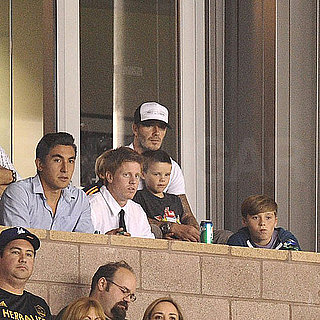 David Beckham Watches LA Galaxy Win and Talks Gray Hair Pictures