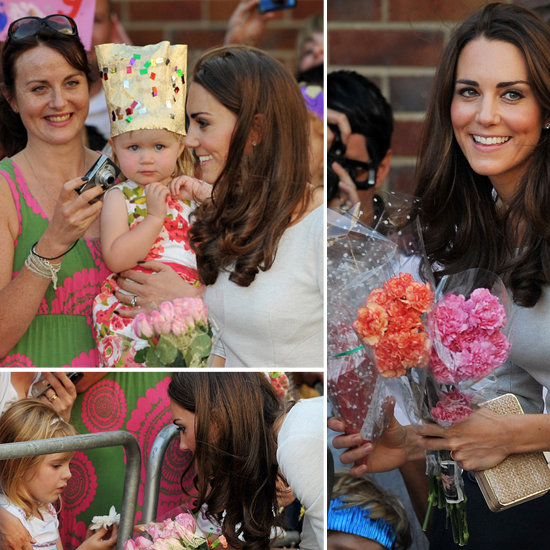 Kate Puts Princess Lessons to Work at Hospital Opening