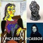 Picasso Exhibit at the de Young Museum in San Francisco