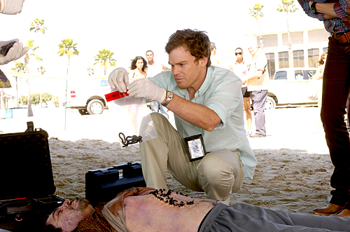 Michael C. Hall as Dexter Morgan on Dexter. Photo courtesy of Showtime