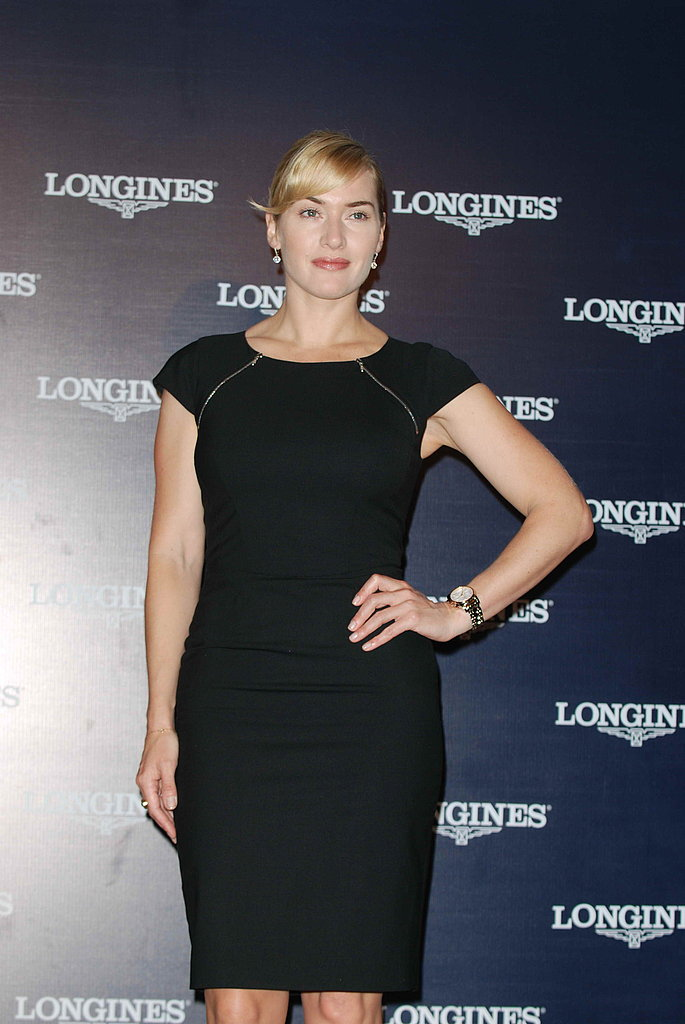 Kate Winslet parties in China.