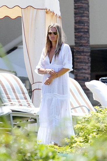 Molly Sims in Hawaii.