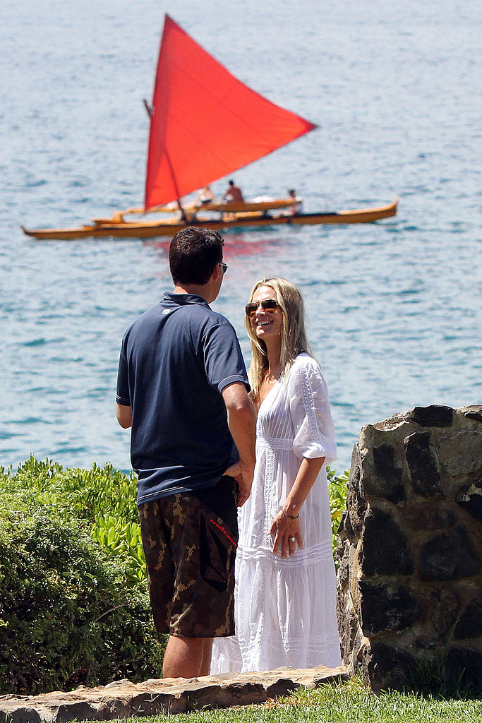 Newlyweds Molly Sims and Scott Stuber.