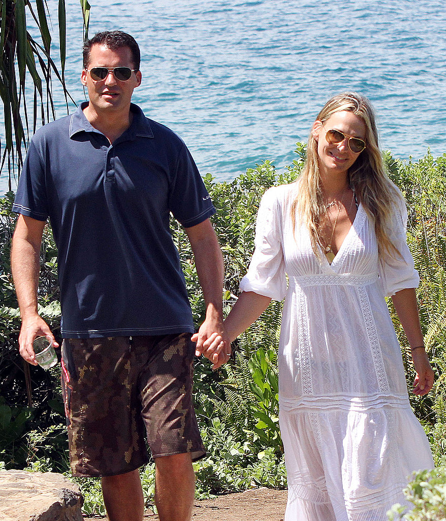 Molly Sims and husband Scott Stuber.