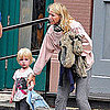 Naomi Watts Holding Samuel&#039;s Hand in NYC Pictures
