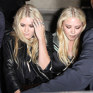 Mary-Kate and Ashley Olsen Pictures at Paris Fashion Week