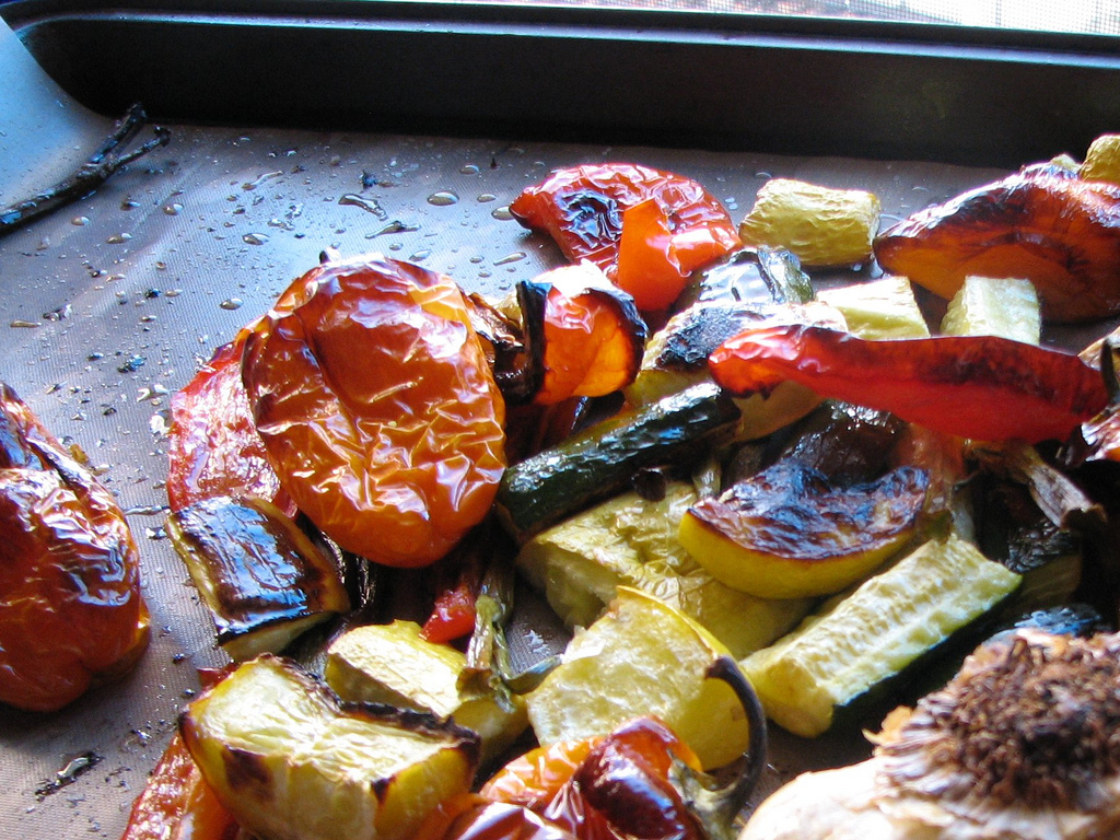 Roast Veggies For the Week