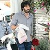 Ben Affleck Pictures Shopping With Violet and Seraphina