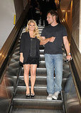 Jessica Simpson and Eric Johnson at the Macy's in San Franciso.