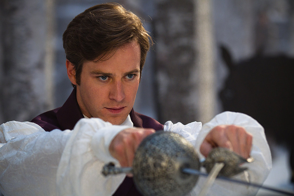Armie Hammer as Prince Charming.  Photo courtesy of Relativity
