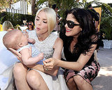Jaime King and Selma Blair cooed at Arthur Bleick.