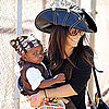 Sandra Bullock and Louis in Pirate Costume Pictures