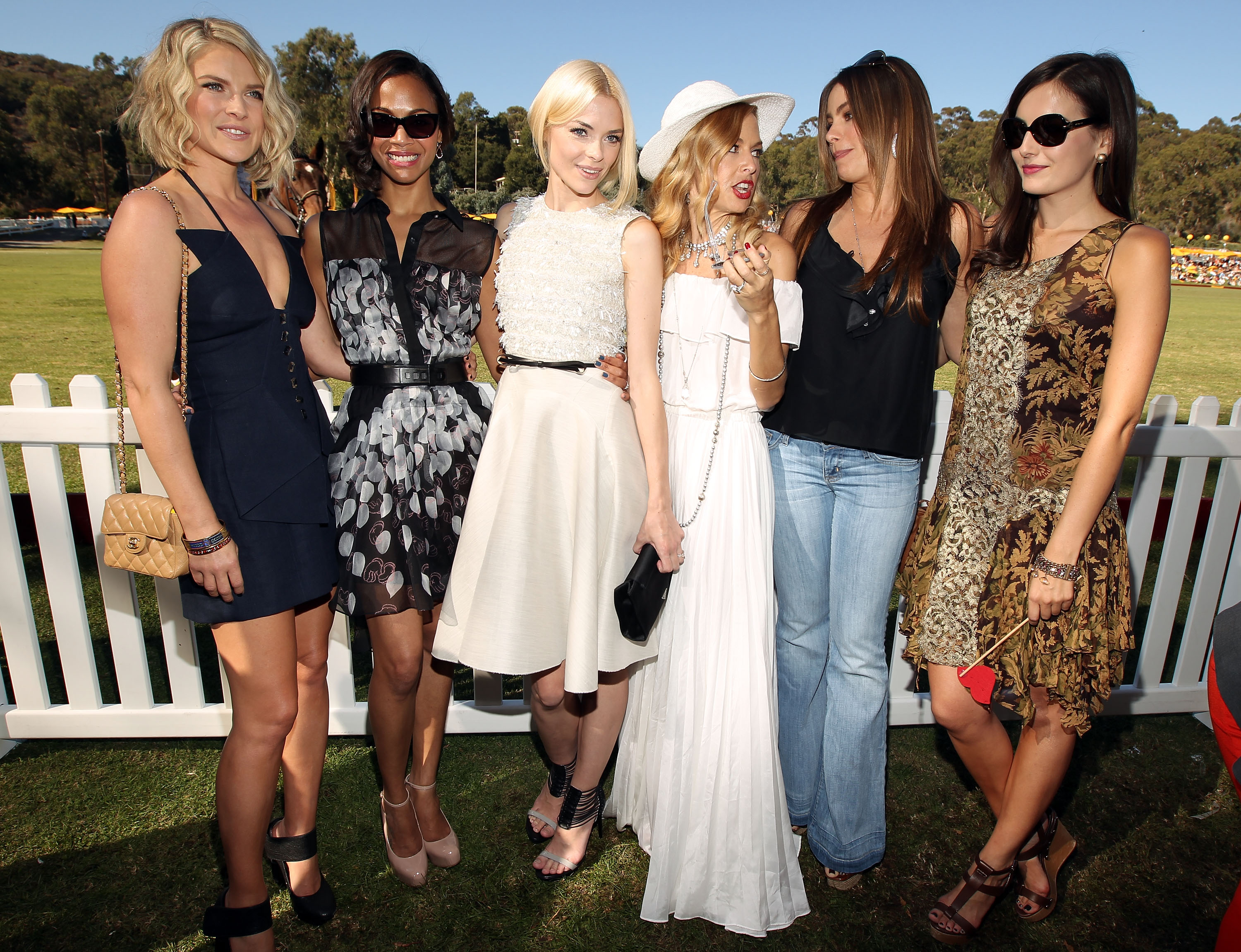 Stars at the Polo