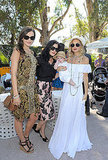 Camilla Belle, Selma Blair, Skyler Berman and Rachel Zoe