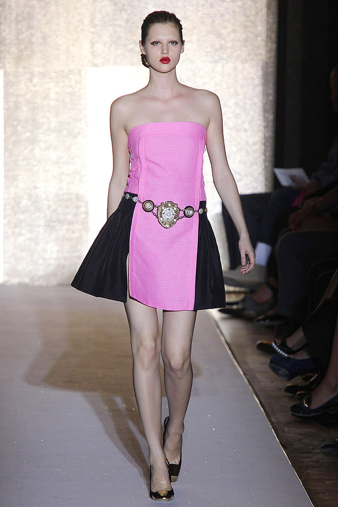 Yves Saint Laurent Spring 2012