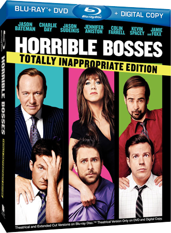 Horrible Bosses on DVD